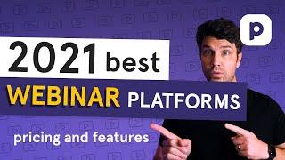 2021 best WEBINAR PLATFORMS (pricing and features breakdown)