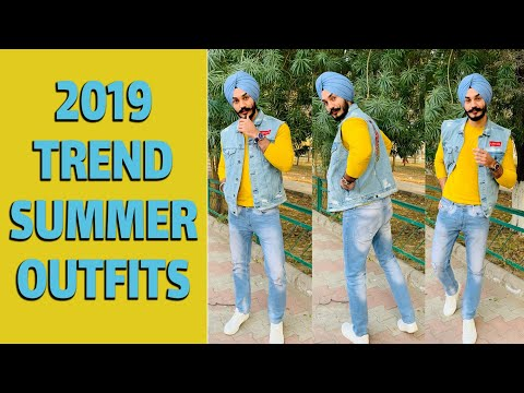 2019 TOP SUMMER CASUAL OUTFITS  | MEN'S SUMMER FASHION