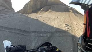 Delta Colorado dirt biking on devils thumb