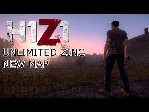 H1Z1 new JS map Unlimited zinc