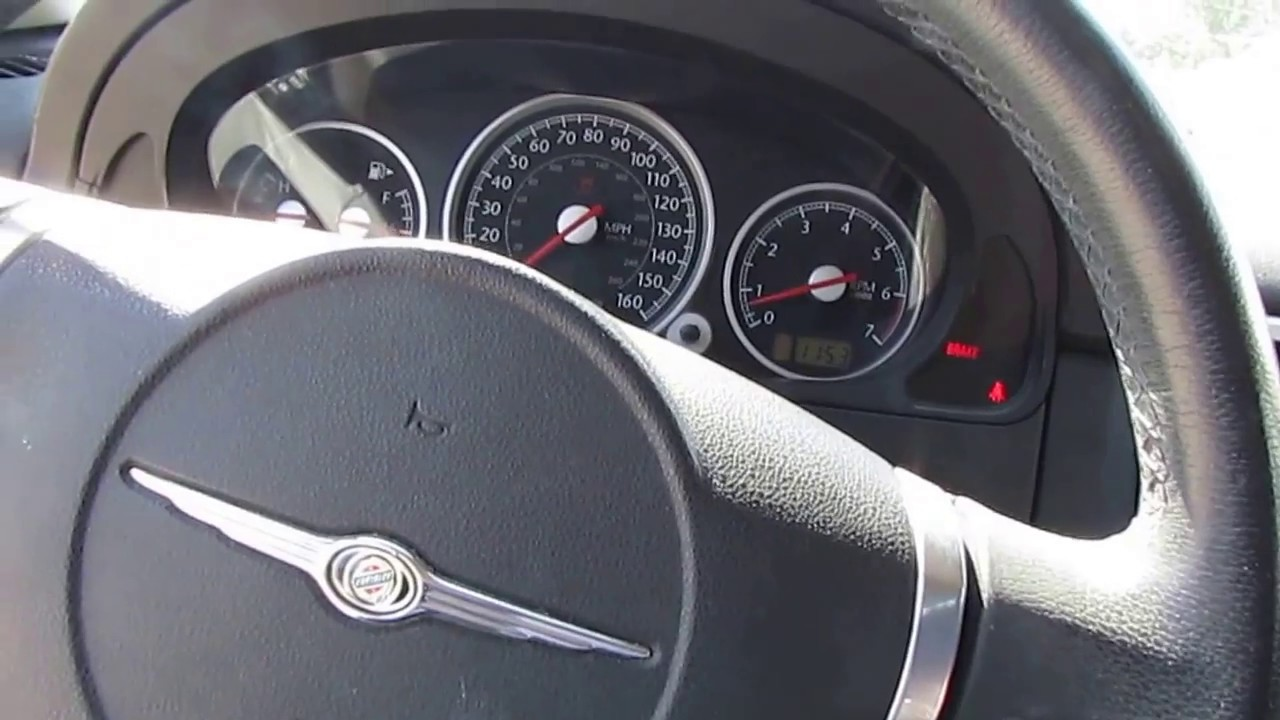 sold 2005 chrysler crossfire coupe built by mercedes 94k miles rh youtube com 2005 chrysler crossfire manual horsepower 2005 chrysler crossfire manual