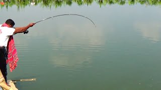 Double Fish Catching Videos At The Same Time