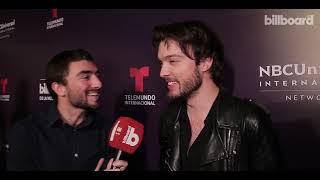 Lucas & the Woods en el warm up de los Latin Billboard Music Awards en Buenos Aires