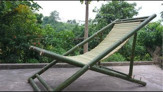 How to make a Nice Bamboo Chair