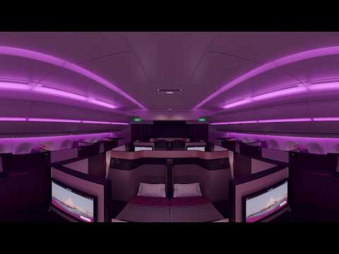 Take a 360 Tour of Qsuite - Qatar Airways New Business Class