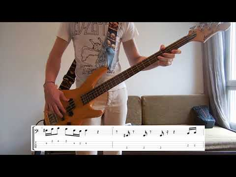 Vulfpeck - Dean Town Bass cover with tabs