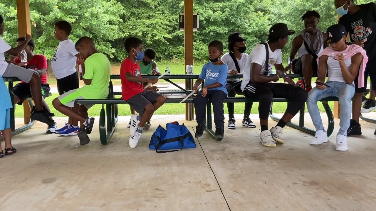 Making The Drumline : Playing The Snare Drum With Baby Boy Snare Drummers and ATL Drum Academy