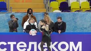Камила Валиева Произвольная программа 5 этап Кубка России Москва 5 12 20