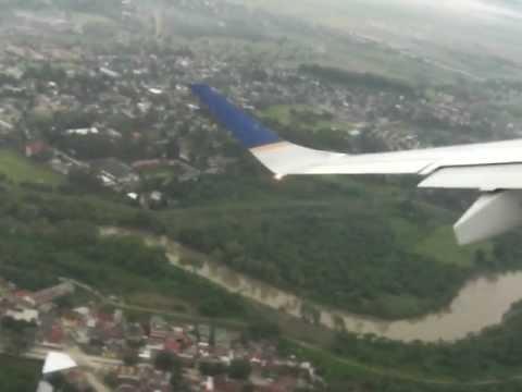 Take off. SAP Honduras. Copa Embraer 190 flight CM796
