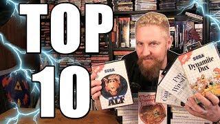 TOP 10 SEGA MAŠTER SYSTEM GAMES - Happy Console Gamer