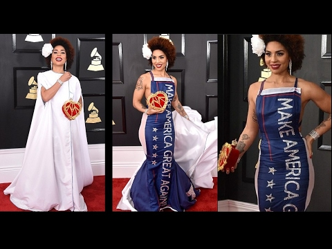 Singer Joy Villa is MAKING THE GRAMMYs GREAT AGAIN