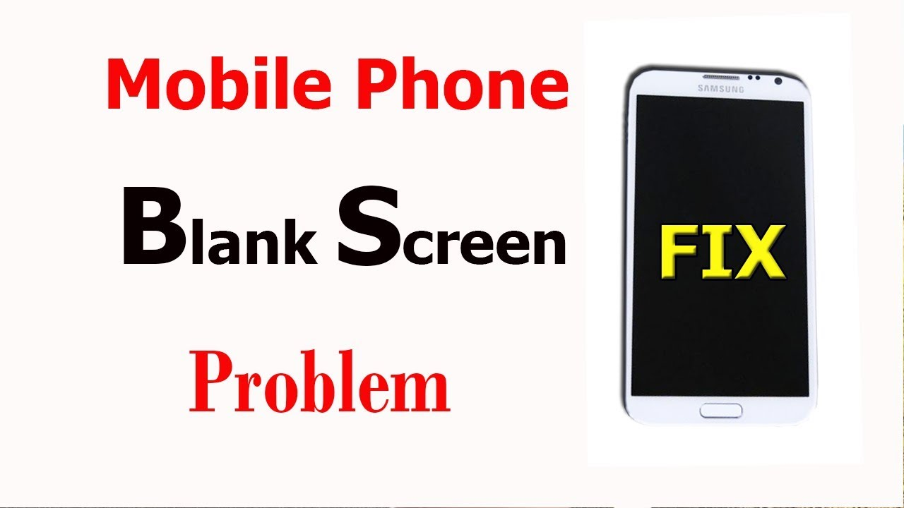 How to Fix Black Screen issue for any Android Phone