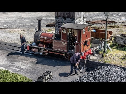 Talyllyn Railway A Ride From Tywyn To Abergynolwyn Behind Dolgoch In May 2017