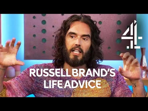 Russell Brand's Deep Life Advice on How to Change  Sunday Brunch