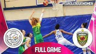 Hatay BB v Sopron Basket - Full Game - EuroLeague Women 2019