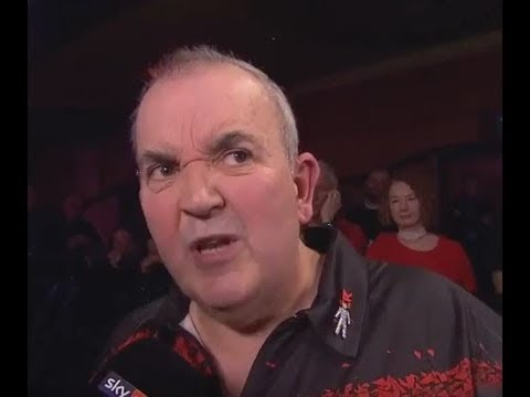 Phil Taylor wanted his Water and his Respect! - 2017 PDC Grand Slam