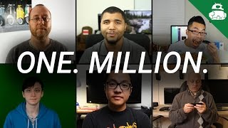 1 MILLION SUBSCRIBERS! THANK YOU!