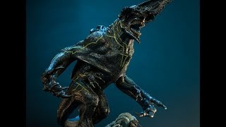 Speed drawing KNIFEHEAD from Pacific Rim