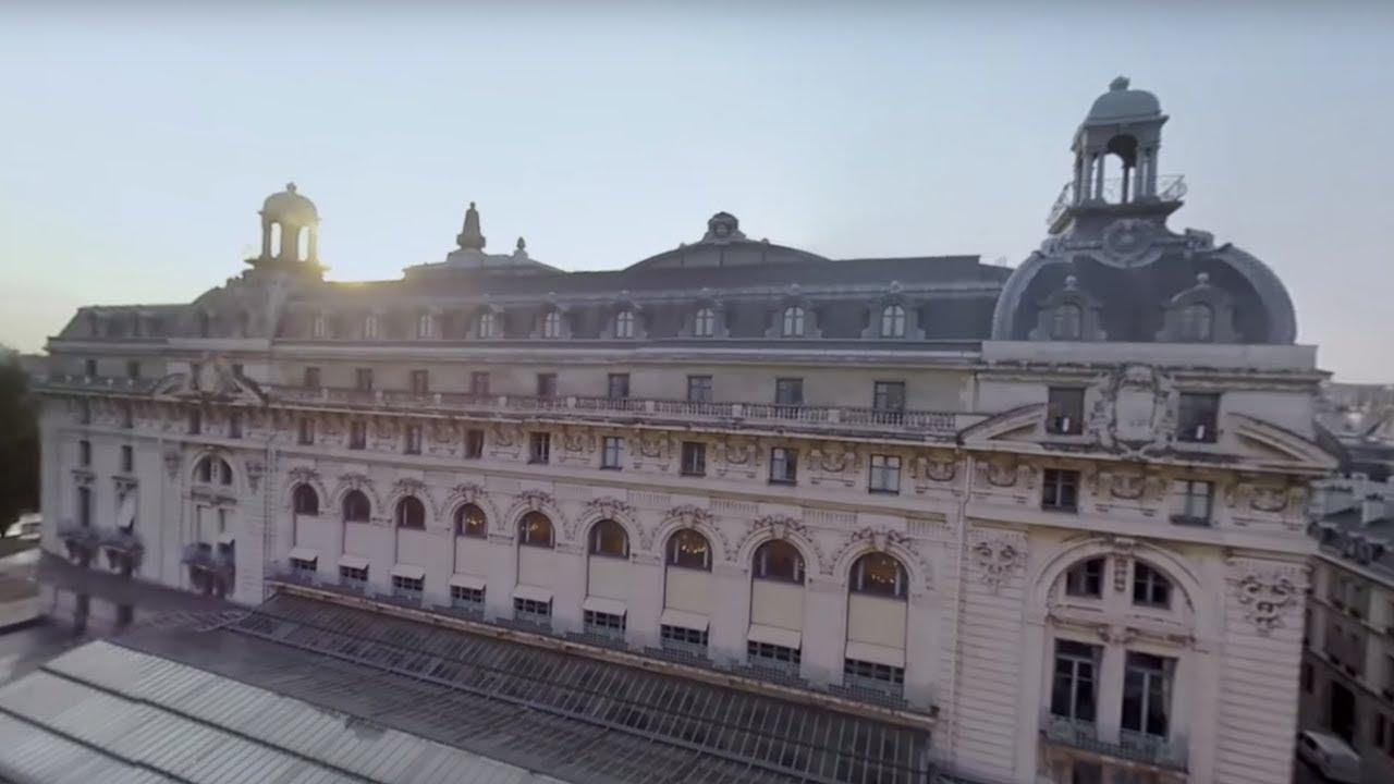 Paris L Envers Du Decor Le Musee D Orsay Video 360 Youtube