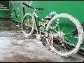 Basık bisiklet yıkama #FAKETAXİ