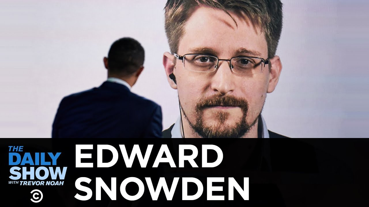 Image result for snowden daily show