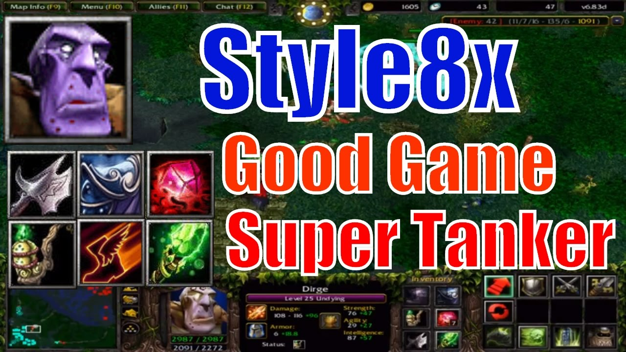 DotA 6.83d Undying Super Tanker-Style8x