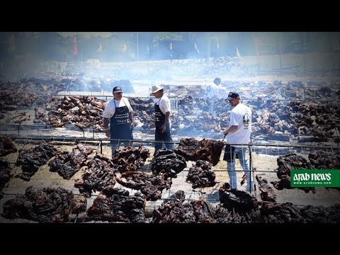 Uruguay beats Guinness World Record for biggest BBQ