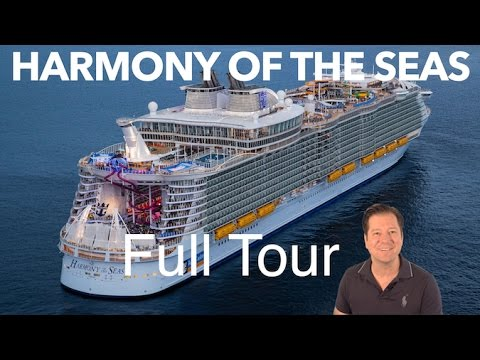 Harmony of the Seas Review - Full Walkthrough - Cruise Ship Tour - Royal Caribbean