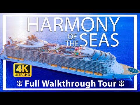 Harmony of the Seas Review - Full Walkthrough - Cruise Ship Tour - Royal Caribbean