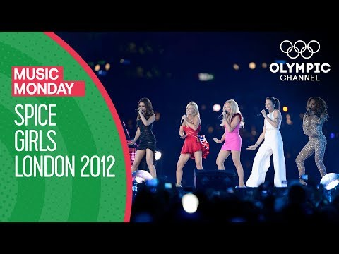 Spice Girls Reunion at London 2012  Music Monday