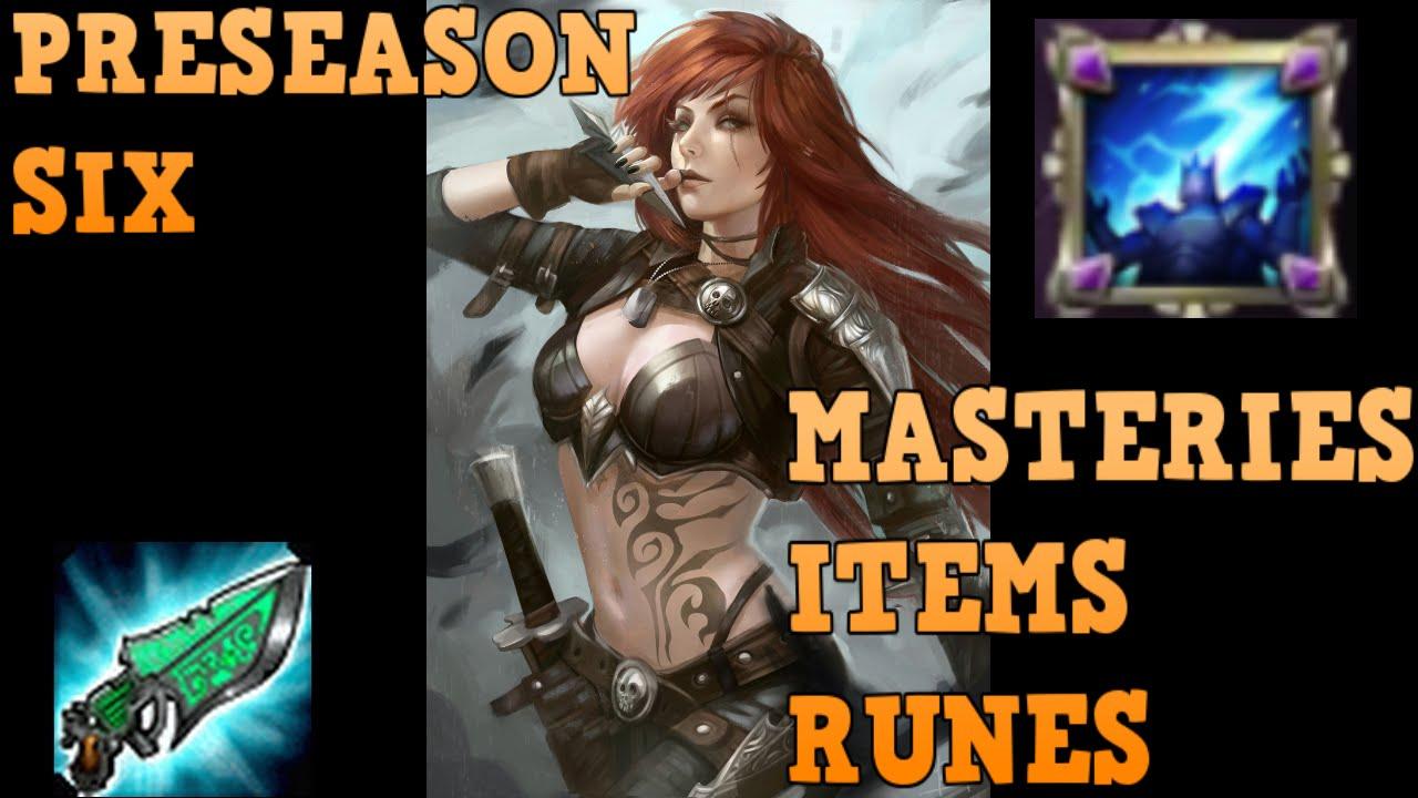 Lol Masteries Build Season