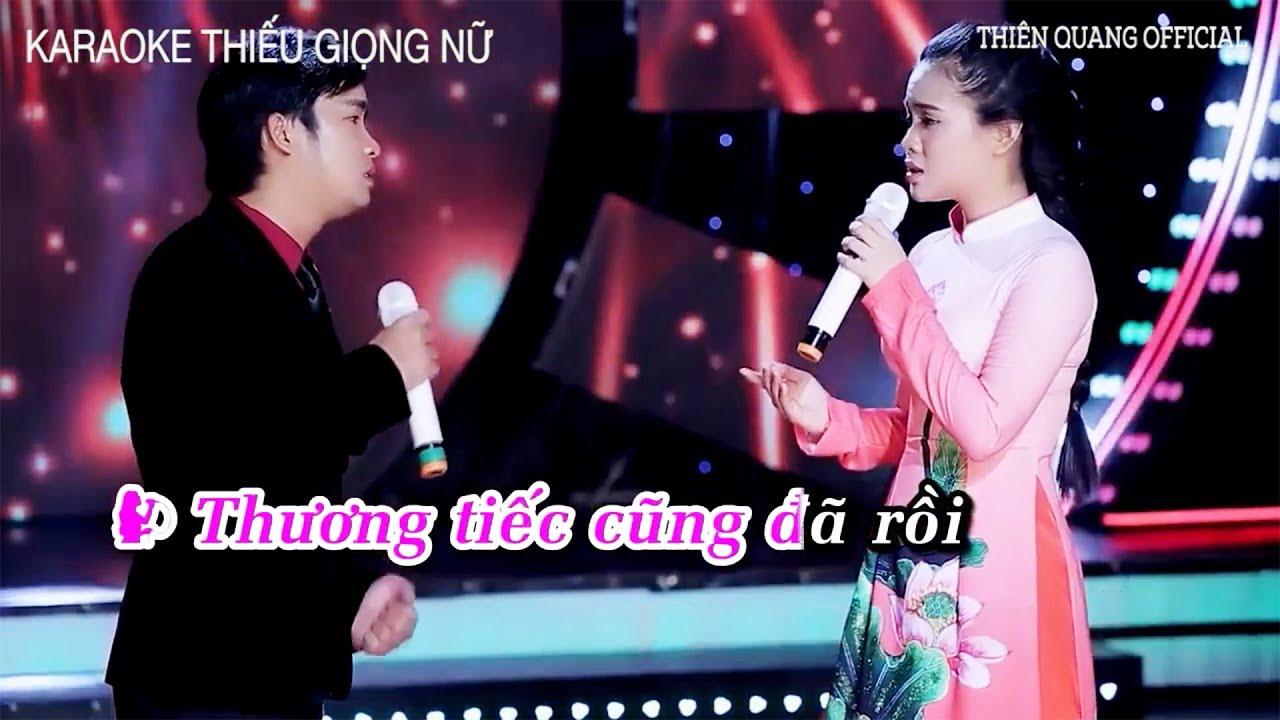(Karaoke Thiếu Giọng Nữ) Gửi Vào Kỷ Niệm - Thiên Quang ft. Quỳnh Trang | Song Ca Cùng Thiên Quang
