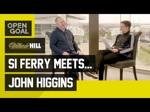 Si Ferry Meets... John Higgins | Life & Laughs as Snooker World Champion and Following Celtic