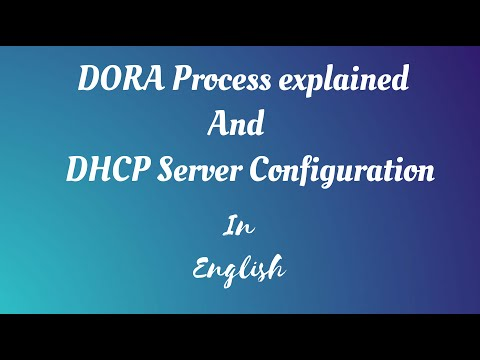 What Is Dhcp Dora Process Dynamic Ip Assignment Dhcp Server Configuration Youtube