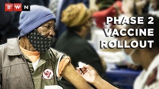 Phase 2 of South Africa's mass vaccine rollout started on 17 May 2021. Here's a wrap of the events of the first day of the programme, which is aimed at those over the age of 60 as well as healthcare workers yet to be vaccinated.   #Vaccines #Covid19news