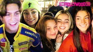 Charli D'Amelio, Chase Hudson, Addison Rae & More From Hype House Mobbed By Fans At The Grove