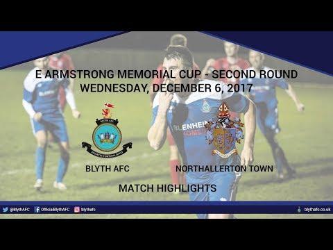 HIGHLIGHTS - Blyth AFC 1-1 Northallerton Town (3-4 on Pens)