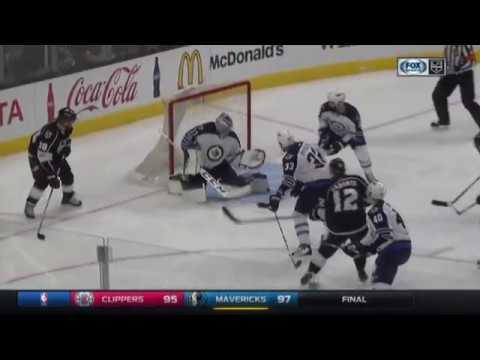 Marian Gaborik Scores on Connor Hellebuyck | Kings Lead Jets 3-2