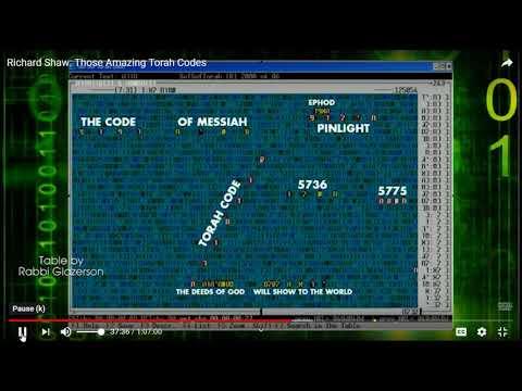 OBAMA -THE STATES- GOG in bible code Glazerson by matityahu glazerson