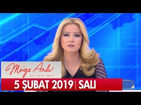 Müge Anlı ile Tatlı Sert 5 Şubat  2019 Salı  - Tek Parça