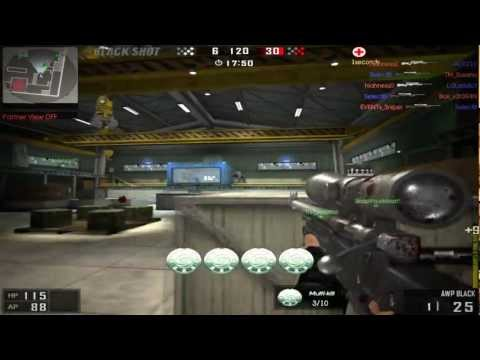 BlackShot AWP Black Sniper QuickScope Montage 3 By Event