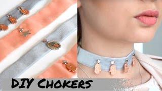 DIY CHOKERS! Como fazer sua choker!