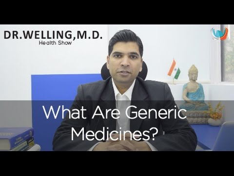 What Are Generic Medicines?