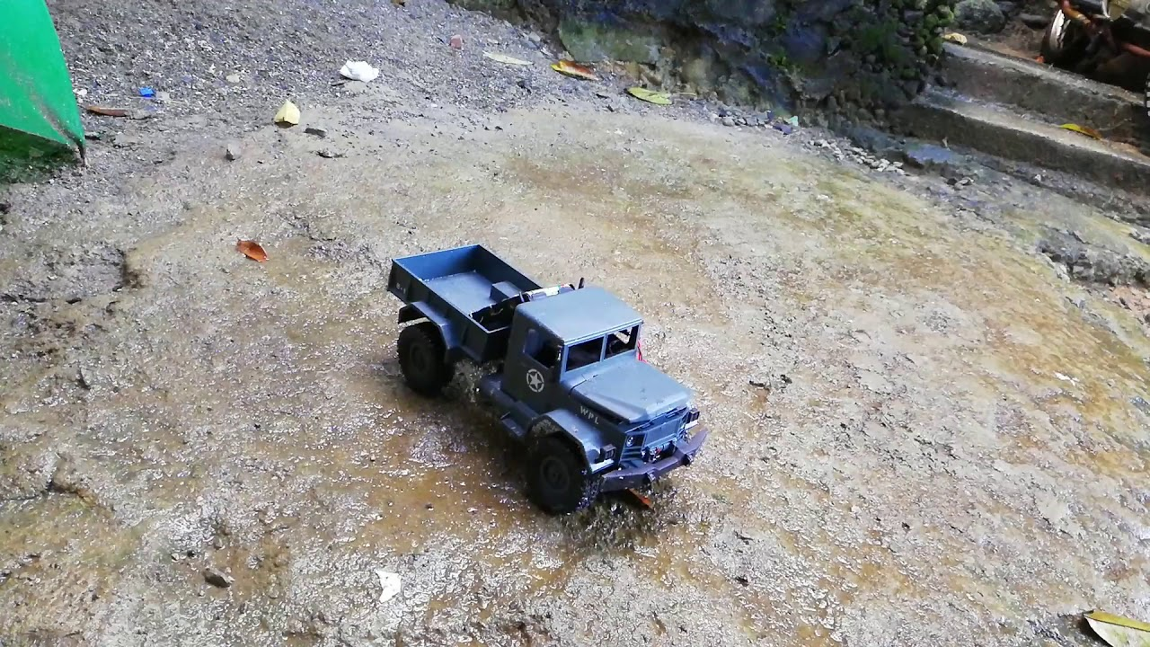 wpl b 1 1 16 off road rc crawler speed test on 180 motor. Black Bedroom Furniture Sets. Home Design Ideas
