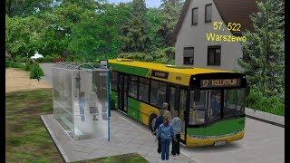 OMSI 2 - Autobusem przez Szczecin. Linia 57 kierunek Kołłątaja