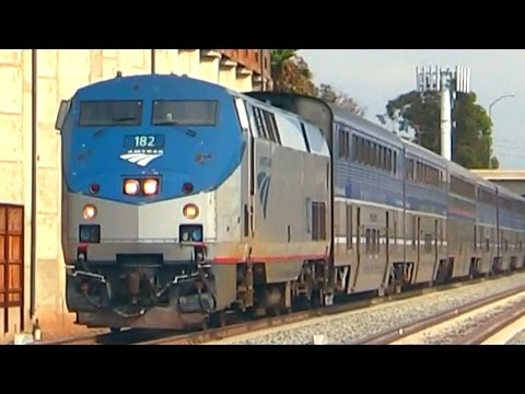 FAST !!! AMTRAK TRAINS