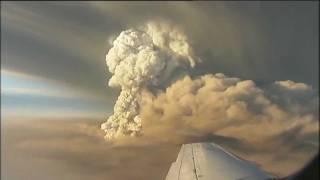 Grimsvotn eruption in Iceland, 2011. Day 1.