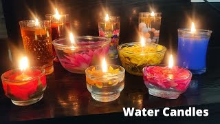 Water Candles నీటి మీద వెలిగే దీపాలతో ఈ దీపావళి అందం గ చేసుకుందాం/ఇంట్లో ఉన్న వాటితో నీటి దీపాలు🎇🎊🎉