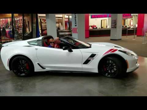 2017 Corvette Grand Sport Museum delivery