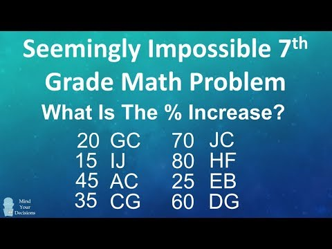Seemingly Impossible 7th Grade Math Riddle - The Coded Table
